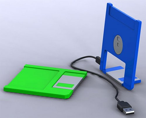 The floppy disk is back