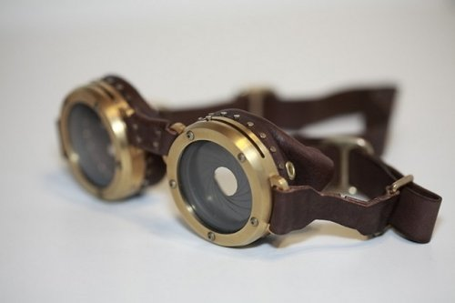 Steampunk Goggles are a work of genius