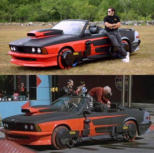Griff Tannen's hover BMW from Back To The Future 2 gets restored