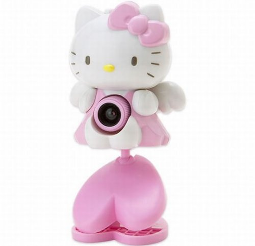 Hello Kitty USB webcam sees all