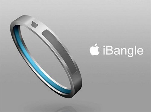 The iBangle bracelet MP3 player