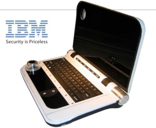 IBM concept laptop is great for spies, has large knob