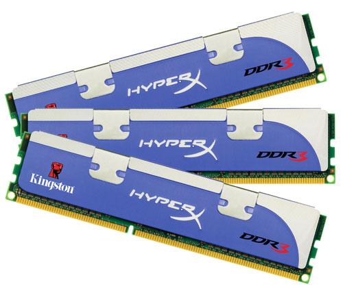 Kingston Hyper X Triple Channel RAM