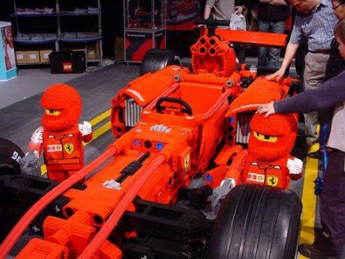 Amazing Lego Ferrari F1