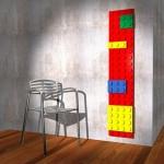 Brick LEGO radiator keeps nerds warm