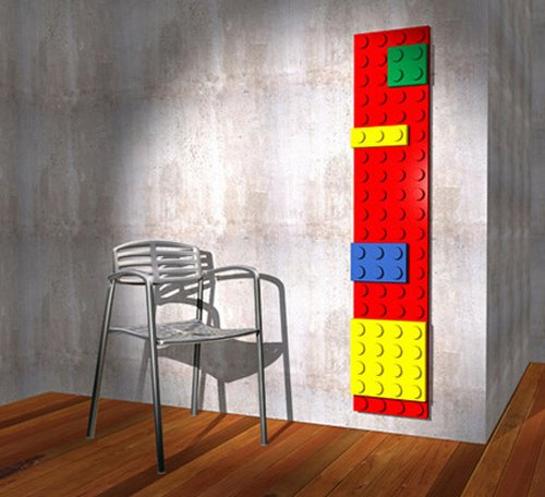 Brick LEGO radiator keeps nerds warm