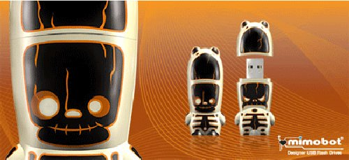 Limited-Edition Mimobot RayD8gig for Halloween