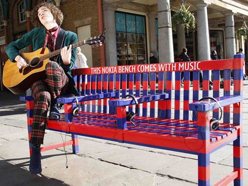 Nokia announces the Music Bench