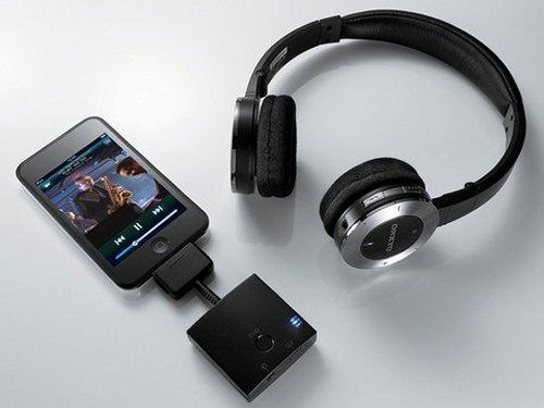 Onkyo MHP-UW2 iPod wireless headphones