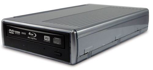 World's first external Blu-ray drive with quad interface