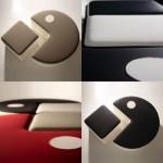 Poufman: Pac-Man inspired furniture