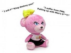 PMS Teddy Swear Bear