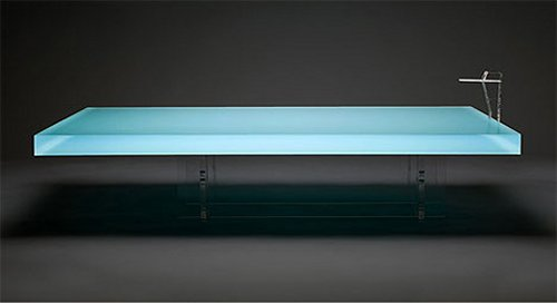 Freshwest creates a literal pool table