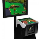 PowerPutt Mini Golf arcade game tees off