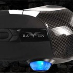 Silverstone introduces the carbon fiber Raven gaming mouse