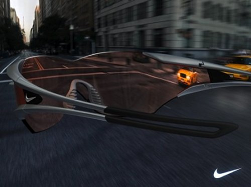 Nike Bicycle Glasses give you super vision