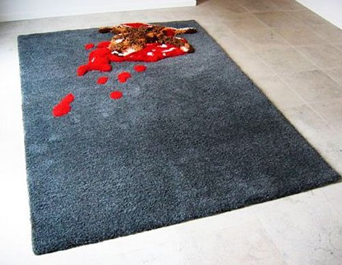 Road Kill Rugs bring the outdoors inside