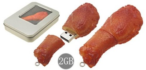 BBQ USB flash drive: George Foreman approves