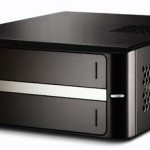 Tiny Shuttle barebone PC uses Atom 330 CPU