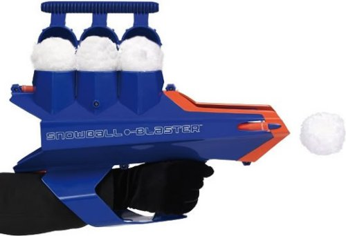 Snowball Blaster: Bringin' a gun to a Snowball fight