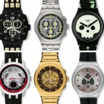 Swatch 007 Villain collection watches