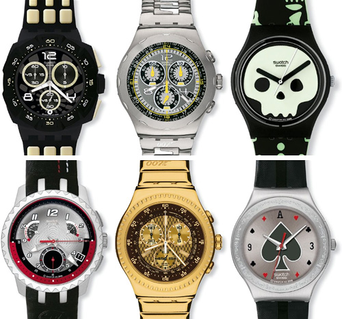 Collection Swatch Watches Swatch 007 Villain Collection