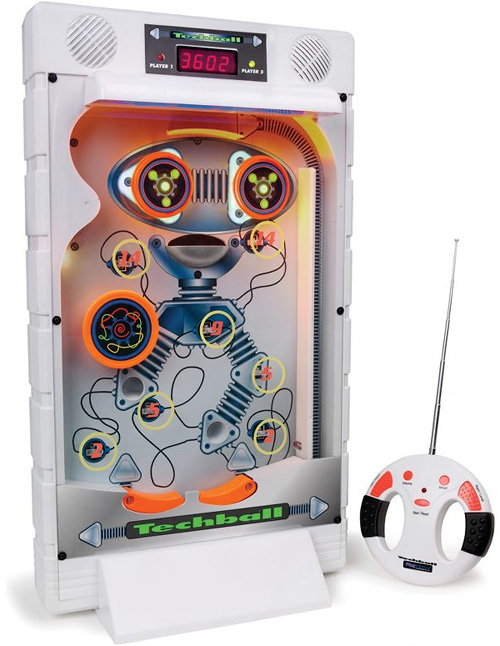 Remote Controlled Upright Pinball