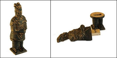 Super Talent unearths Terra Cotta Warrior USB drives