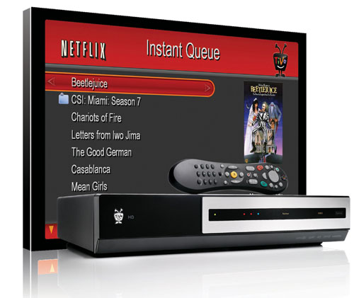 TiVo and Netflix Team Up