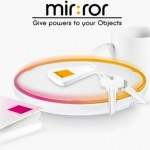Violet mir:ror connects everything using RFID