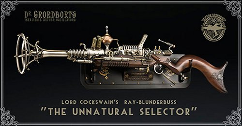 WETA Steampunk Raygun gives us a nerd-gasm