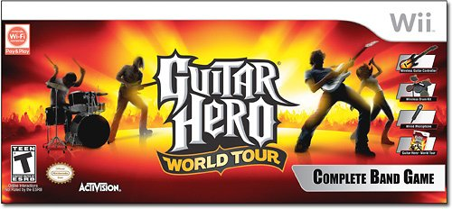 Guitar Hero World Tour now on store shelves