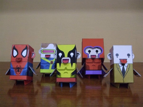 X-men Papercraft figures are fairly awesome, still Uncanny