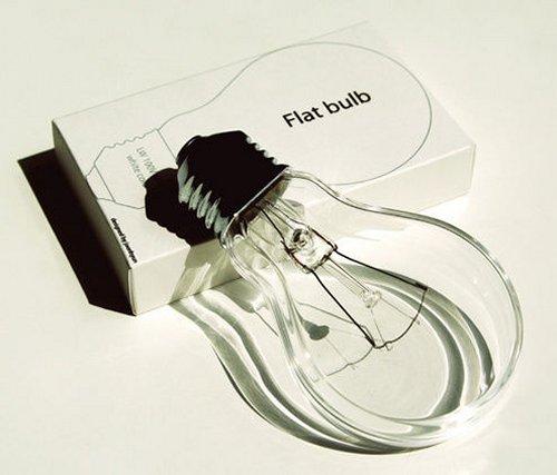 Flat Light Bulbs are not bulbs at all