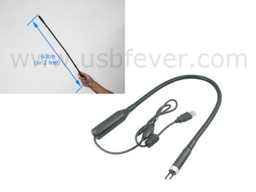 USB Endoscope for tight spots, crazy DIY exams