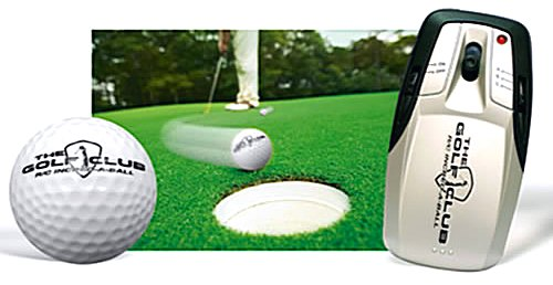 Radio Controlled Golf Ball for Golf course fun