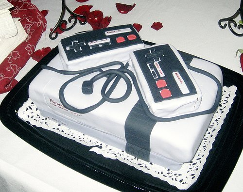Awesome NES cake