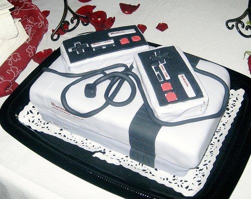 Awesome NES cake