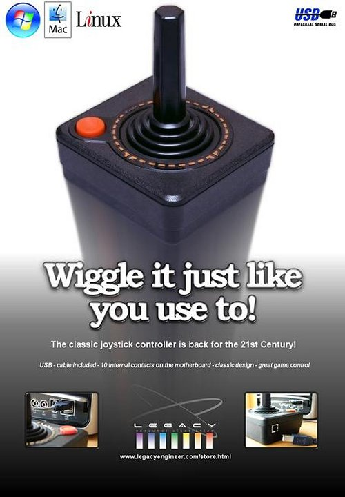Atari joystick is back