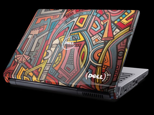Dell (PRODUCT) RED Artwork Laptop