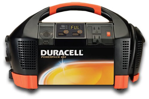 Duracell Powerpack 450 talks you through jump-starting