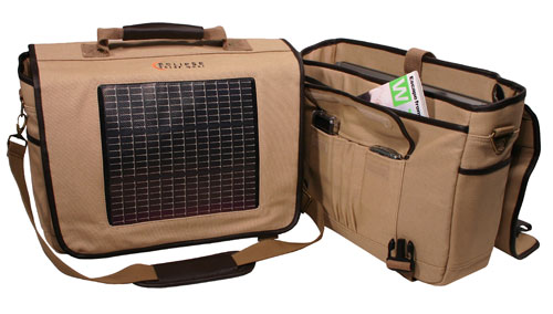 Eclipse Solar Messenger Bag