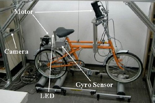 Self-stabilizing bike stabilizes drunk bikers