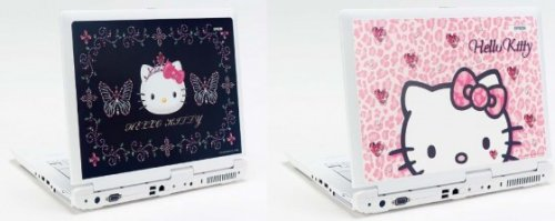 Hello Kitty netbook from Epson