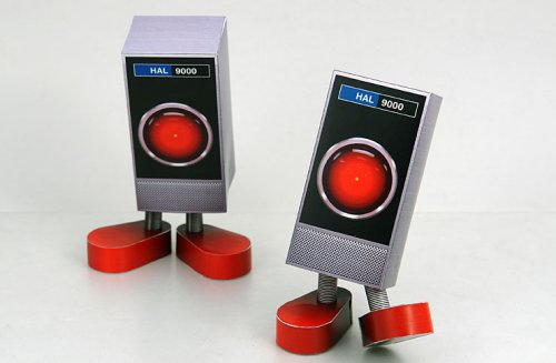 HAL 9000 Papercraft: Cute, still dangerous