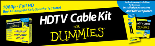 HDTV Cable Kit for Dummies