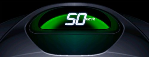 Honda Speedometer changes color to change your driving