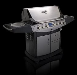 iQue Grill with stereo & on-board computer controls