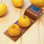 Digital Clock powered by lemons