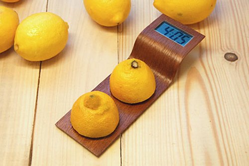 Digital Clock powered by lemons
